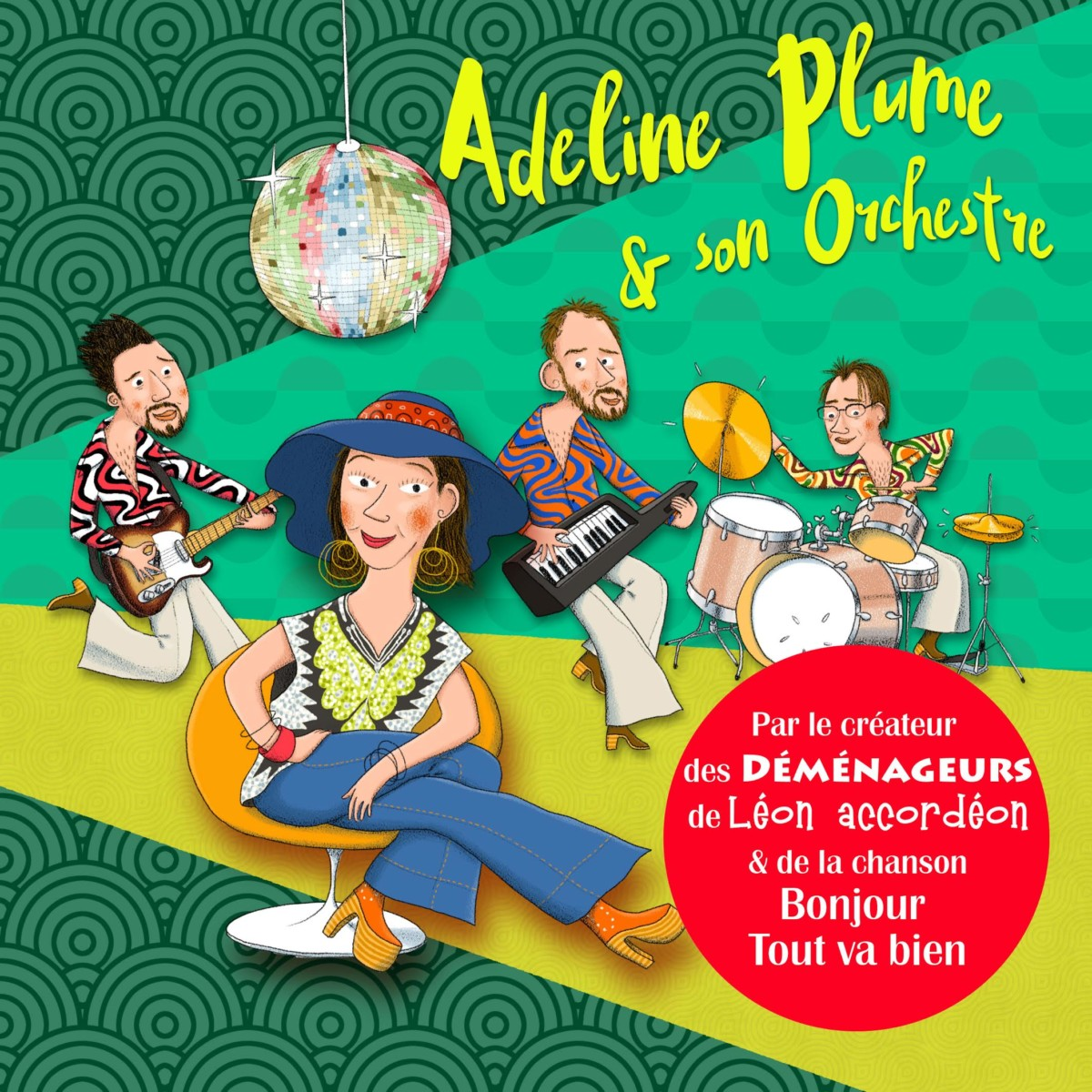 Adeline Plume et son orchestre (LIVRE-CD) - Team For Action f6e3154a160